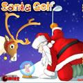 Karácsony télapó golf